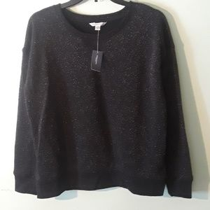 American Eagle sparkly black sweater